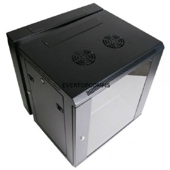 12U Wall Rack Network Server Cabinet for Broadband network 600*450mm