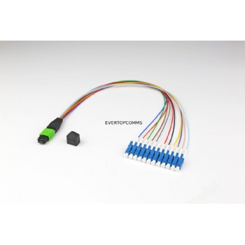 MPO-LC 12 core Fiber Optic Patch Cord