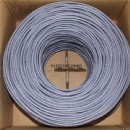 23AWG 4 Pair Cat6 Cable , Cat5e Lan Cable UTP Bare Copper Conduct Type