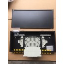 24 Ports Fiber Optic Panel , 1U Rack Mount Patch Panel With ST Simplex Adapters
